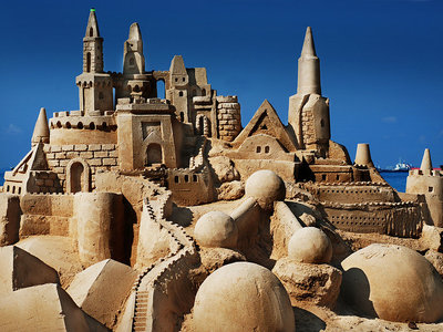 Esto dice la ciencia sobre cómo construir el castillo de arena perfecto