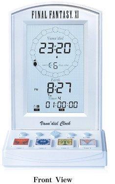 Final Fantasy XI y su reloj despertador