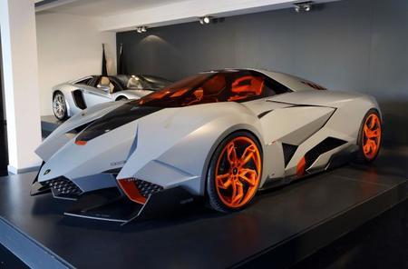 El Lamborghini Egoista se expondrá en el Museo Lamborghini