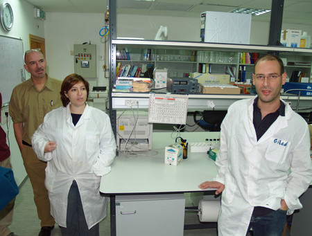 Norman Sandberg And Meytav Lab By David Shankbone