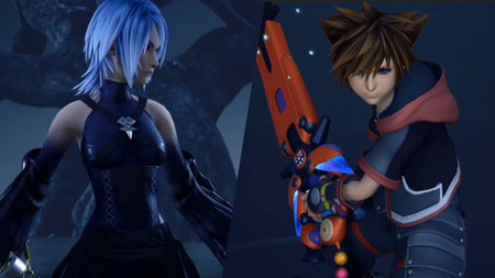 Kingdom Hearts Iii Aqua Sora