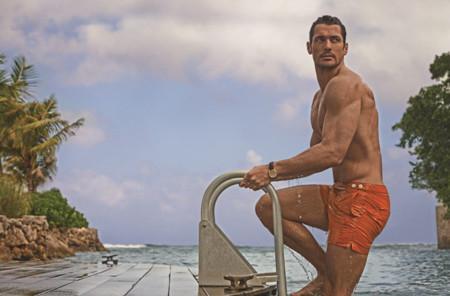 David Gandy presenta su colección de swimwear