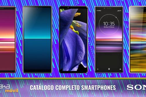 Sony Xperia 1 II, Xperia 10 II y L4, así encajan dentro del catálogo completo de móviles Sony en 2020