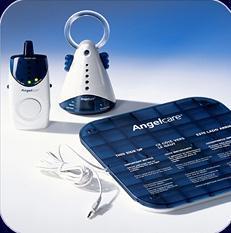 Intercomunicador que controla la respiración del bebé, Angel Care