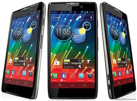 El Motorola Razr HD de Telcel recibe Android 4.1 Jelly Bean