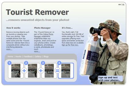 "Tourist Remover, ""limpiando"" tus fotos de turistas"
