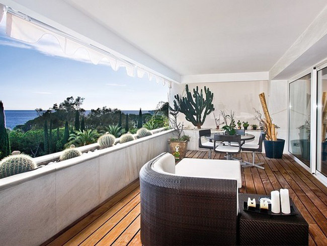 Terraza apartamento en Marbella