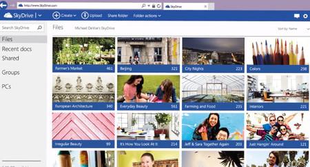Posibles novedades de SkyDrive para mejorar la forma de compartir y sincronizar archivos