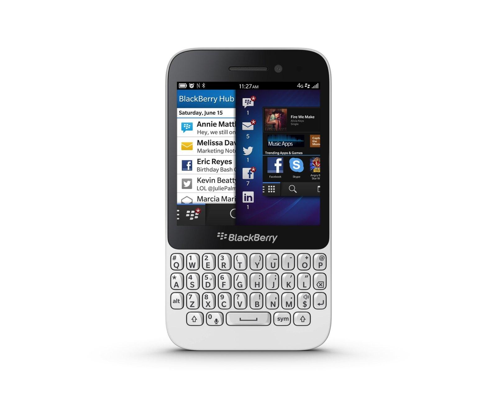 Foto de Blackberry Q5, presentación oficial (7/9)