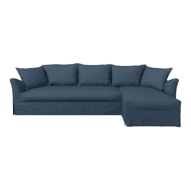 Sofá tapizado de 5 plazas con chaise longue derecha Ripley El Corte Inglés