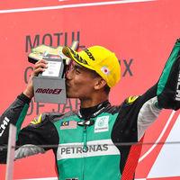 Hafizh Syahrin probará la M1 de Tech3 en Tailandia... y posiblemente acabe siendo piloto de MotoGP