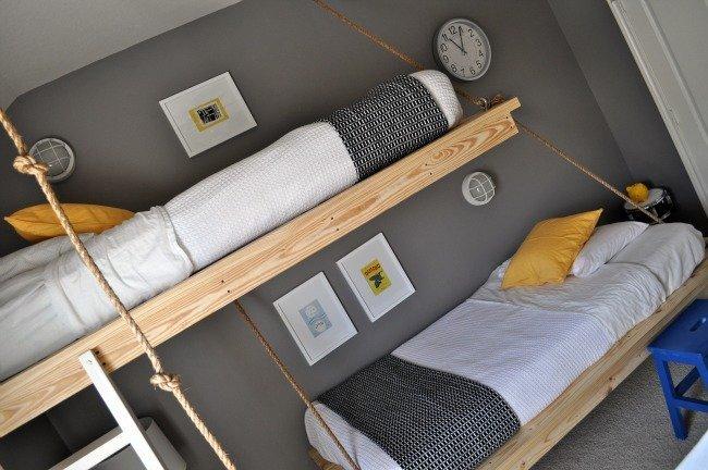 Cómo hacer camas colgantes