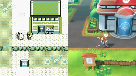 Pokémon Let's Go, Pikachu! y Let's Go, Eevee! frente a las entregas de Game Boy  y 3DS  en un análisis de Digital Foundry