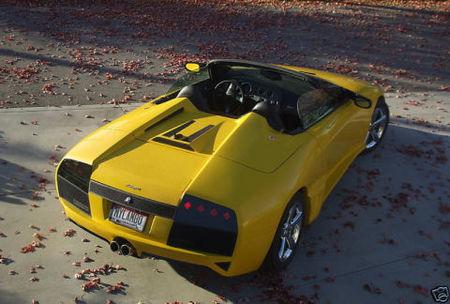 Lamborghini Murcielago replica Pontiac Solstice