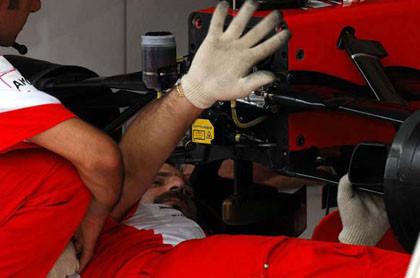 Resuelto el caso del suelo de Ferrari