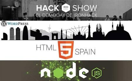 Eventos para desarrolladres de Abril: HTML5 Spain, Hack Show, Unity 3D por parte de MSND y algo de Drupal y Wordpress