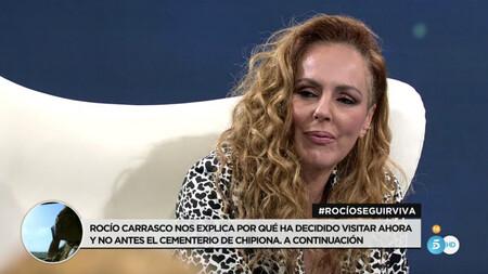 Rocío Carrasco en directo