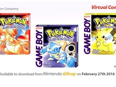 Rojo, Azul y Amarillo. Regresan los Pokémon originales a 3DS y la gran pregunta: Bulbasaur, Charmander o Squirtle