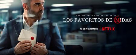 'Los favoritos de Midas': una intrigante miniserie de Netflix que engancha llevando al límite a Luis Tosar