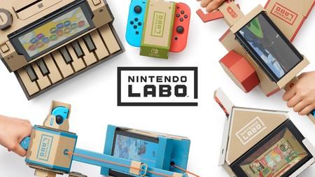 He probado Nintendo Labo y nunca pensé que me lo pasaría tan bien jugando con unos simples cartones