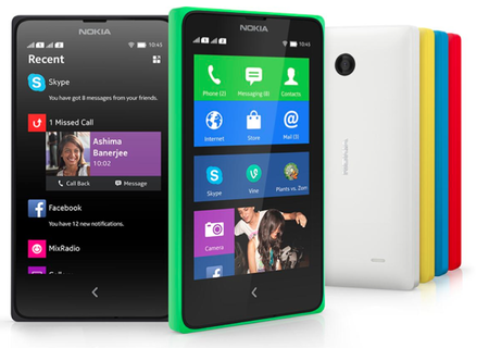 Nokia X contra su posible competencia en México