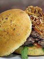 La hamburguesa de carne de Kobe también se puede comer en Yakarta