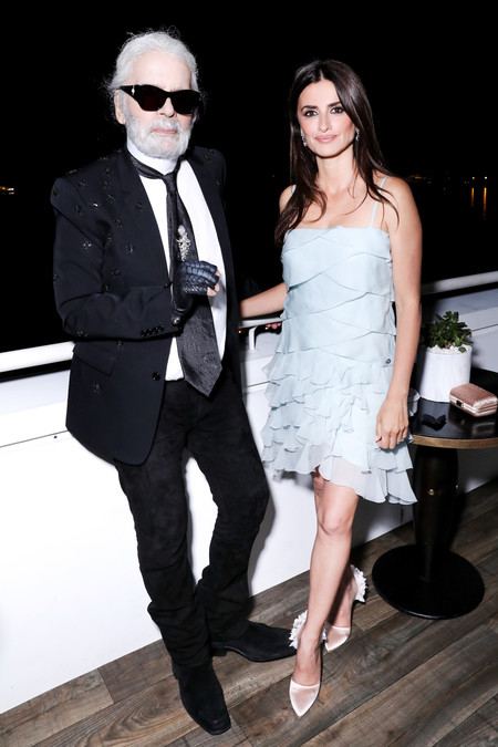 Penelope Cruz And Karl Lagerfeld Hd