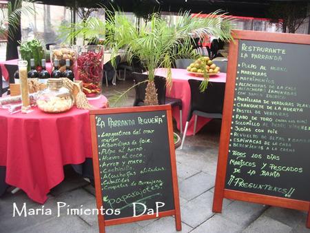 Terraza del restaurante La Parranda
