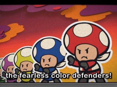 El Rescue V regresa para salvar el día en un nuevo vídeo de Paper Mario: Color Splash