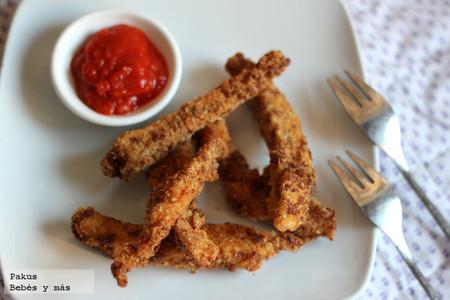 Recetas de verano para los peques: fingers de pollo caseros