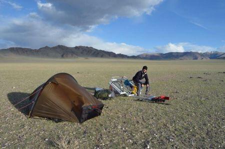Viajes extremos: atravesar Mongolia a pie y en solitario
