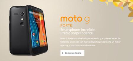 Adiós al misterio, Moto G Forte es un pack del Moto G y su Grip Shell, de momento en México
