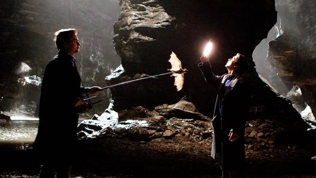 Nolan with Christian Bale