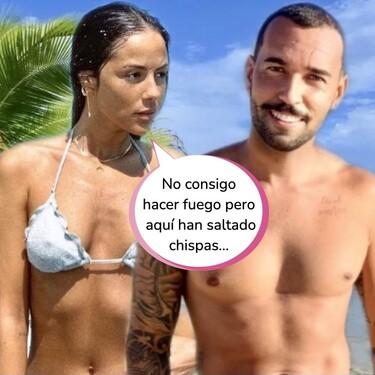 La declaración de amor de Melyssa Pinto a Omar Sánchez en 'Supervivientes' que podría hundir a Anabel Pantoja