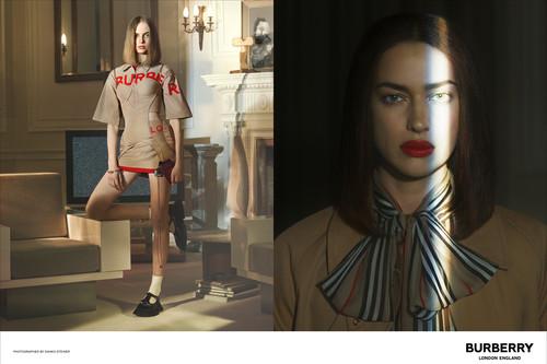 Irina Shayk y Natalia Vodianova son algunos de los rostros de la primera campaña de Riccardo Tisci para Burberry