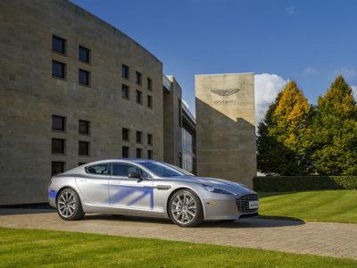 Aston Martin RapidE, el auto totalmente eléctrico cuya producción depende de China