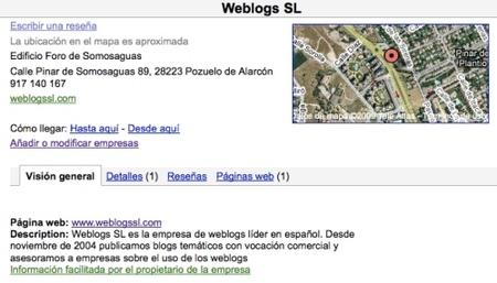 Información Weblogssl