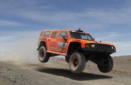 Robby Gordon excluido del Dakar 2012