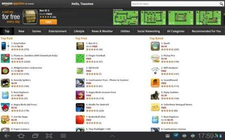 La Amazon App Store se pone en marcha para allanar el camino al tablet de Amazon
