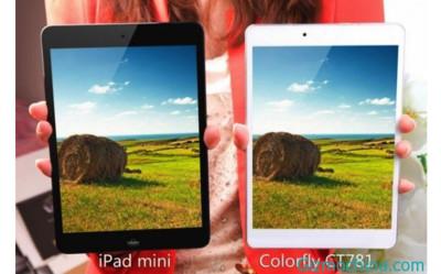 Colorfly CT781, un iPad mini más estrecho y más barato basado en Android es el tablet más fino del mundo
