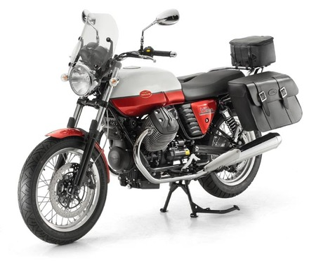 Moto Guzzi V7 Special con accesorios