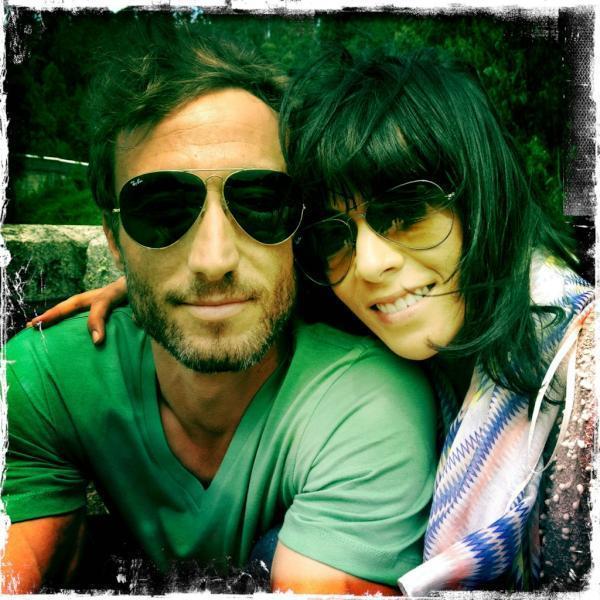 Fernando Alonso y Raquel