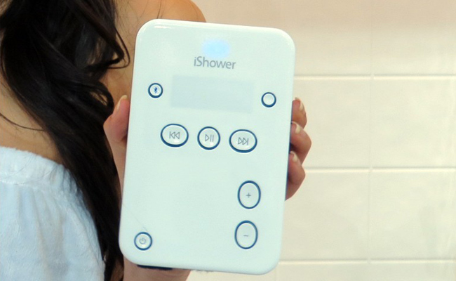iShower, para escuchar música en la ducha