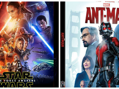 Un 40% de descuento en DVD y Blu-ray Marvel y Star Wars en Amazon