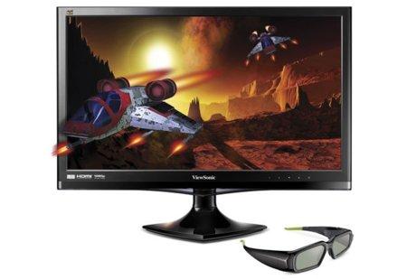 Viewsonic V3D245, monitor 3D compatible con gafas Nvidia