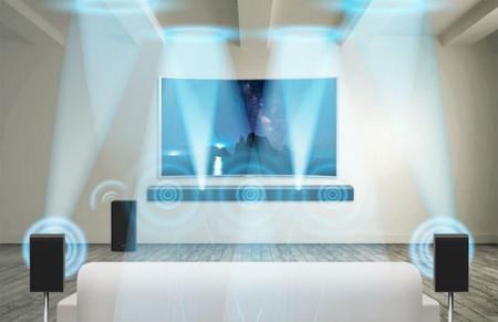 barra de sonido Dolby Atmos