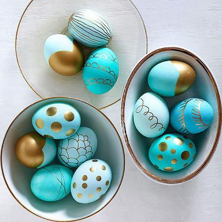Huevos Metalizados