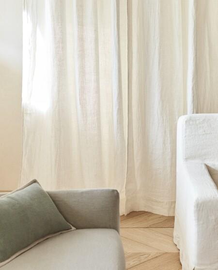 Cortinas de lino Zara Home