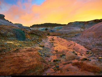 Una hallazgo inesperado: tridimita en Marte