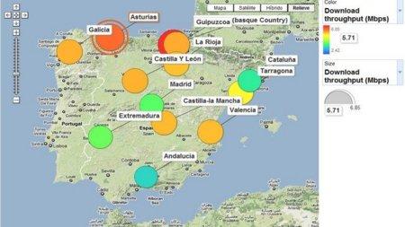 Visualiza el mapa del rendimiento de las conexiones a Internet en el mundo gracias a M-Lab